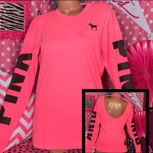 Pink Victorias Secret Campus T-shirt